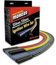 Ignition Wire and Related Components - Spark Plug Wire - Moroso - Moroso Wire Set, Univ, Red, Strt Boot - 73218