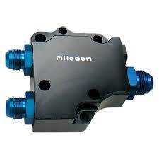 Cylinder Block Components - Engine Oil Pump Cover - Milodon Inc. - Milodon Billet Wdg Remote Oil Pump Cover - MIL-21235