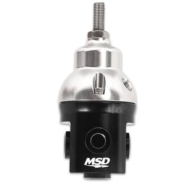 Fuel Injection System and Related Components - Fuel Injection Pressure Regulator - MSD - Regulator, Fuel Pressure - 2938