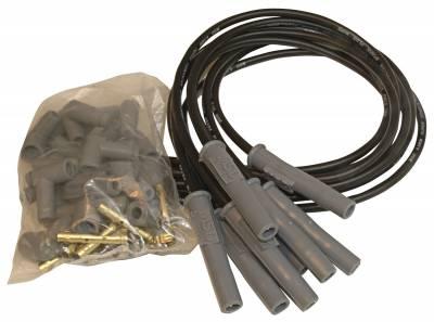 MSD - Wire Set, Black, Universal 8 cyl. M/A - 31193