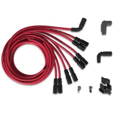 MSD - Wire Set, Univ.Chevy LT1 w/straight boot - 32129