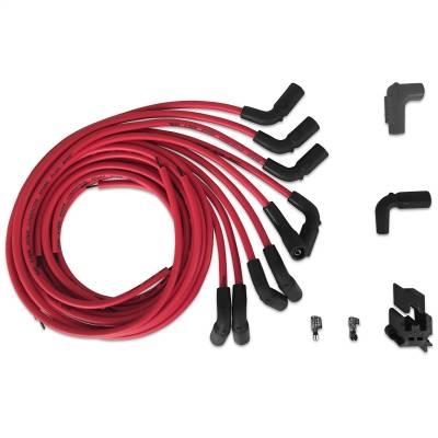 MSD - Wire Set, Univ.Chevy, LT1 w/90 deg boots - 32139