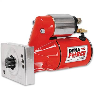 Starter and Related Components - Starter Motor - MSD - DynaForce Starter, GM Sml & Big Blk - 5095