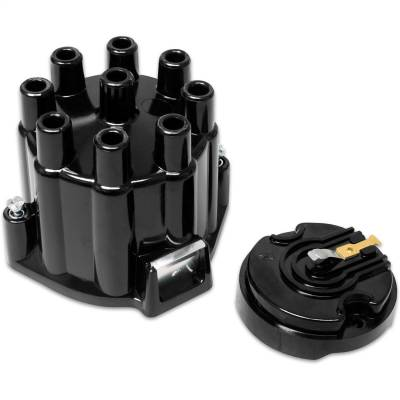 Distributor and Magneto - Distributor Cap and Rotor Kit - MSD - SF, Cap/Rotor Kit, MSD/GM V8 Points - 5500