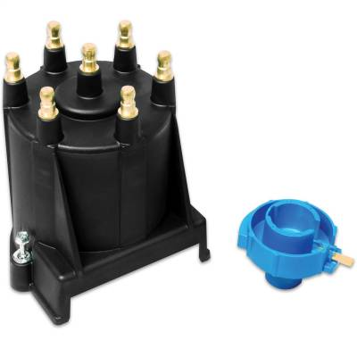 Distributor and Magneto - Distributor Cap and Rotor Kit - MSD - SF, Cap/Rotor Kit, GM 4.3L, ext. coil - 5503