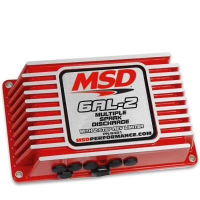 Control Modules - Ignition Control Module - MSD - MSD-6AL-2, w/2-Step Limiter, 4,6,8cyl - 6421