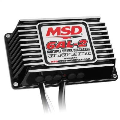 BLK MSD-6AL-2, w/2-Step Limiter,4,6,8cyl - 64213