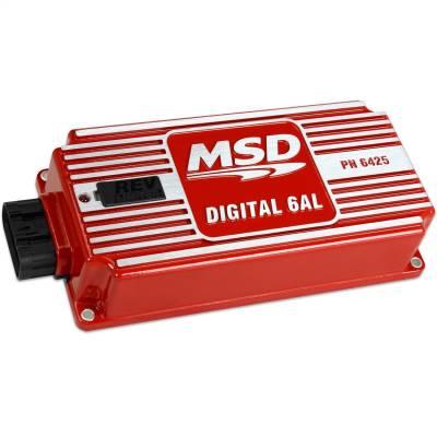 Control Modules - Ignition Control Module - MSD - MSD-6AL, Digital Ignition w/rev Control - 6425
