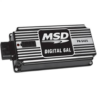 BLK MSD-6AL, Digital Ignition w/rev Cont - 64253