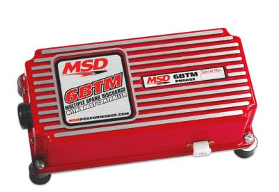 Control Modules - Ignition Control Module - MSD - MSD 6BTM w/Built-in Boost Control - 6462