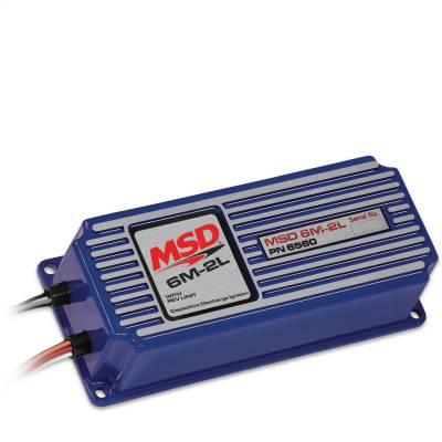 Control Modules - Ignition Control Module - MSD - MSD 6M-2L Marine Ign w/Rev Limit Certif - 6560
