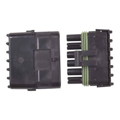 Electrical Connectors - Ignition Coil Connector - MSD - Connector, 6-Pin Weathertight, 1 Card - 8170