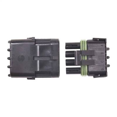 Electrical Connectors - Ignition Coil Connector - MSD - Connector, 4-Pin Weathertight, 1/Card - 8171