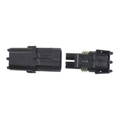 Electrical Connectors - Ignition Coil Connector - MSD - Connector, 2-Pin Weathertight, 1/Card - 8173