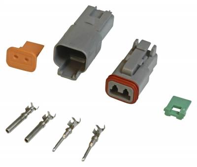 Wire, Cable and Related Components - Wire Terminal Clip - MSD - Connector,Deutsch,2-Pin Connector Assemb - 8183