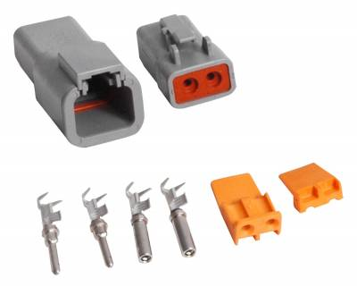 Wire, Cable and Related Components - Wire Terminal Clip - MSD - Connector, Deutsch,2-Pin,12ga. High Curr - 8184