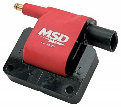 Ignition Coil - Ignition Coil - MSD - Coil, Chrysler Late Model, '90-'96 - 8228