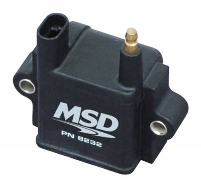 Ignition Coil - Ignition Coil - MSD - Coil, Single Tower, CPC Ignition - 8232