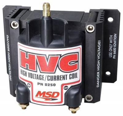 Ignition Coil - Ignition Coil - MSD - HVC Power Coil, Use w/MSD HVC Ignitions - 8250