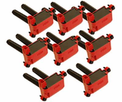 Ignition Coil - Ignition Coil - MSD - Coils, 5.7/6.1L HEMI, 05-14, 8-Pack - 82558