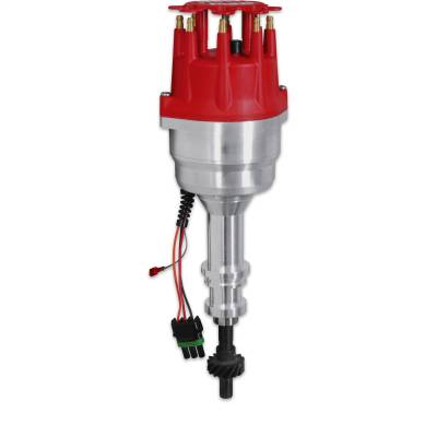 Distributor and Magneto - Distributor - MSD - Ready-to-Run Marine Dist. Ford 351-460 - 83506