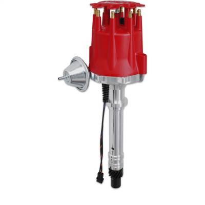 MSD - Distrib., Chevy V8, Billet w/Vacuum Adv. - 8361