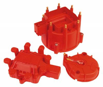 Distributor and Magneto - Distributor Cap and Rotor Kit - MSD - Extreme Output HEI Cap and Rotor Kit - 84023