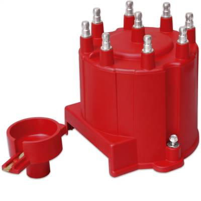 Distributor and Magneto - Distributor Cap and Rotor Kit - MSD - Distr. Cap and Rotor, GM External Coil - 8406