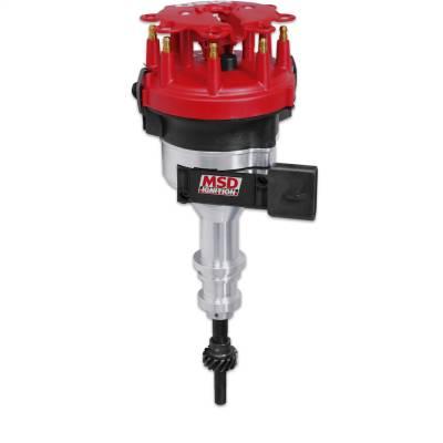 Dist. Ford TFI, 351W,steel gear,hyd roll - 8452