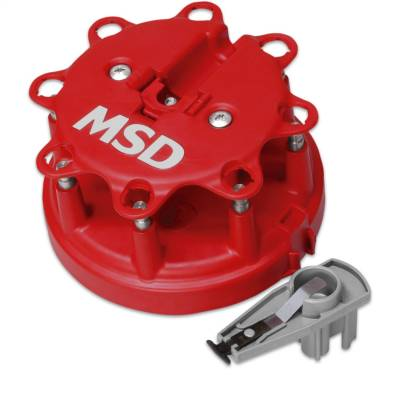 Distributor and Magneto - Distributor Cap and Rotor Kit - MSD - Dist. Cap/Rtr Kit, MSD/Ford V8 TFI,85-95 - 8482