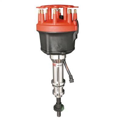 Distributor, Ford 351W,w Roller Stl Gear - 85840