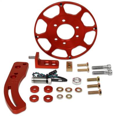 Sensors - Ignition Crank Trigger Kit - MSD - Crank Trigger Kit, Fly. Magnet, BB Chevy - 8620