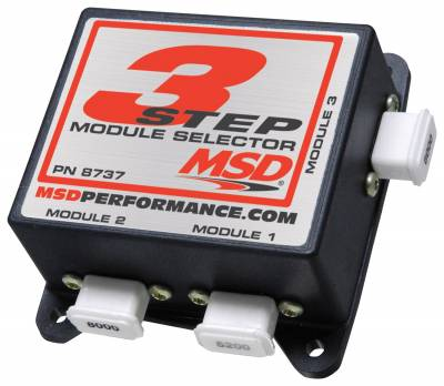Fuel Injection System and Related Components - Engine RPM Limiter - MSD - Three Step Module Selector - 8737