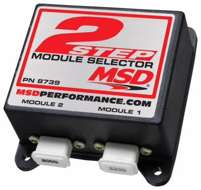 Fuel Injection System and Related Components - Engine RPM Limiter - MSD - Module Selector, Two Step - 8739
