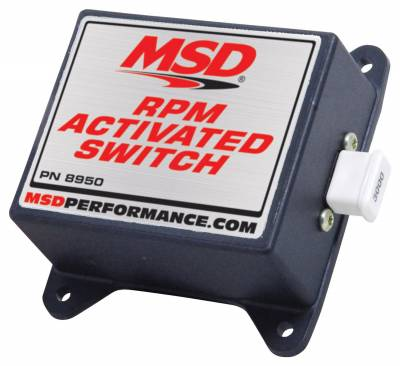 Fuel Injection System and Related Components - Engine RPM Limiter - MSD - Switch Kit, RPM Activated - 8950