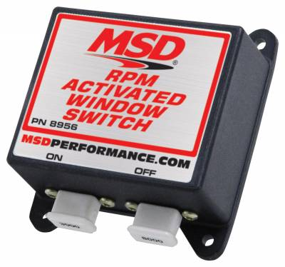 Fuel Injection System and Related Components - Engine RPM Limiter - MSD - Window, RPM Activated Switch, MSD - 8956