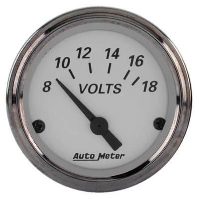 """Instrument Panel - Voltmeter Gauge - AutoMeter - GAUGE, VOLTMETER, 2 1/16"""", 18V, ELEC, AMERICAN PLATINUM - 1992"""