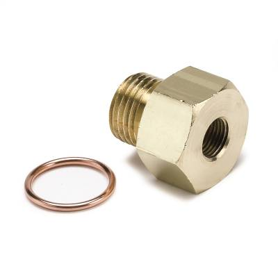 "AutoMeter - FITTING, ADAPTER, METRIC, M16X1.5 MALE TO 1/8"" NPTF FEMALE, BRASS - 2268"