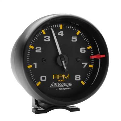 """Instrument Panel - Tachometer Gauge - AutoMeter - GAUGE, TACHOMETER, 3 3/4"""", 8K RPM, PEDESTAL, BLK DIAL BLK CASE, AUTOGAGE - 2300"""