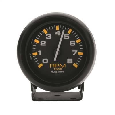 """Instrument Panel - Tachometer Gauge - AutoMeter - GAUGE, TACHOMETER, 2 3/4"""", 8K RPM, PEDESTAL, BLK DIAL BLK CASE, AUTOGAGE - 2305"""