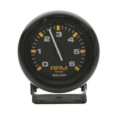 """Instrument Panel - Tachometer Gauge - AutoMeter - GAUGE, TACHOMETER, 2 3/4"""", 6K RPM, PEDESTAL, BLK DIAL BLK CASE, AUTOGAGE - 2306"""