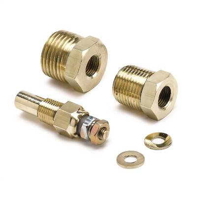 "Sensors - Multi Purpose Temperature Sensor - AutoMeter - SENSOR, TEMPERATURE, 1/8"" NPTF MALE, REPLACEMENT, AUTO GAGE - 2385"
