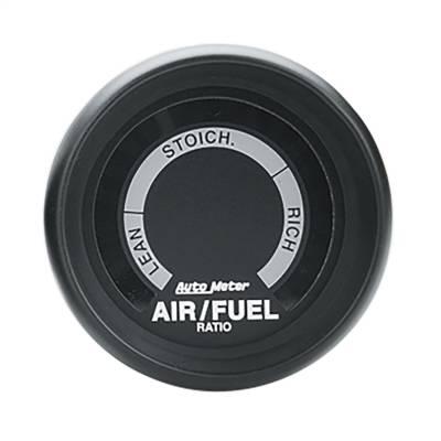 """Instrument Panel - Air / Fuel Ratio Gauge - AutoMeter - GAUGE, AIR/FUEL RATIO-NARROWBAND, 2 1/16"""", LEAN-RICH, LED ARRAY, Z-SERIES - 2675"""