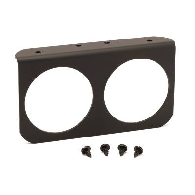 "AutoMeter - GAUGE MOUNTING PANEL, DUAL, 2 5/8"", BLACK, ALUMINUM - 3232"