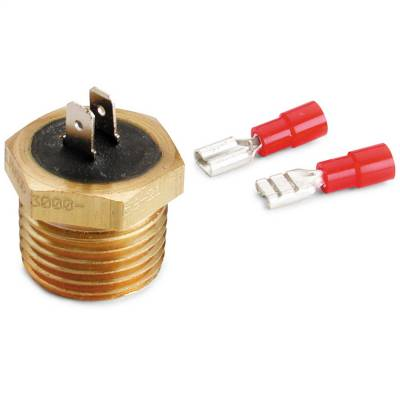 """Switches - Engine Coolant Temperature Switch - AutoMeter - TEMPERATURE SWITCH, 200?F, 1/2"""" NPT MALE, FOR PRO-LITE WARNING LIGHT - 3246"""