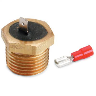 """Switches - Engine Coolant Temperature Switch - AutoMeter - TEMPERATURE SWITCH, 220?F, 1/2"""" NPTF MALE, FOR PRO-LITE WARNING LIGHT - 3247"""