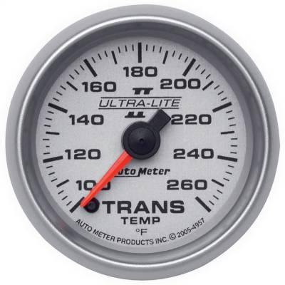 "GAUGE, TRANSMISSION TEMP, 2 1/16"", 100-260?F, DIGITAL STEPPER MTR, ULTRA-LITE II - 4957"