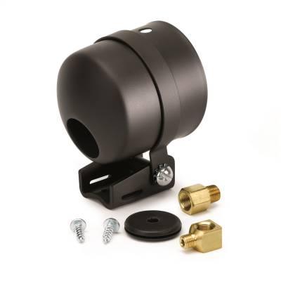 """GAUGE MOUNT, 2 5/8"""", PEDESTAL W/ BLACK CUP, FOR LIQUID FILLED MECH. GAUGE - 5202"""