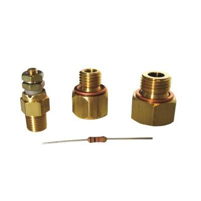 GAUGE INSTALL KIT FOR LS ENGINES, INCL. FITTINGS, SHORT TEMP SENSOR, MANUAL - 5284