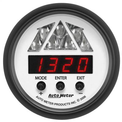 Instrument Panel - Tachometer Gauge - AutoMeter - GAUGE, SHIFT LIGHT, DIGITAL RPM W/ MULTI-COLOR LED LIGHT, DPSS LEVEL 2, PHANTOM - 5788